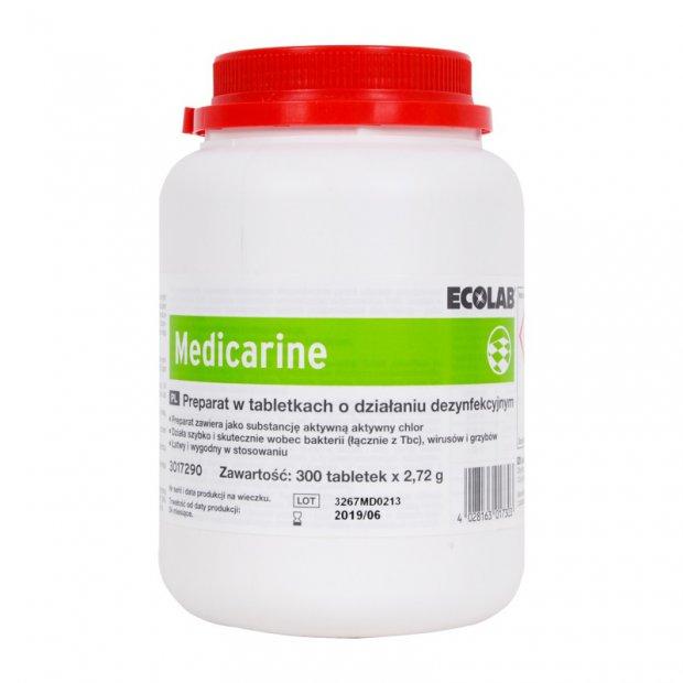 Ecolab Medicarine – Chlorowy preparat dezynfekcyjny – 300 tabletek
