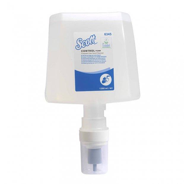 Kimberly-Clark Kleenex - Luksusowa pianka do codziennego mycia rąk, bezzapachowa - 1,2 l
