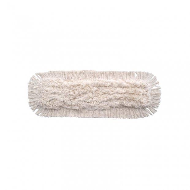 Intermop Dust - Mop kieszeniowy cięty na prosto, bawełna - 60 cm