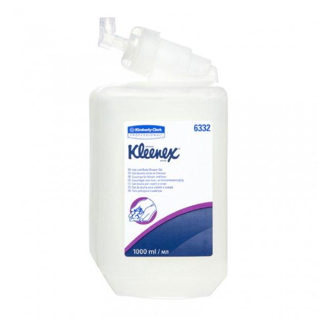 Kimberly Clark Kleenex - Luksusowy żel do mycia włosów i ciała - 1 l