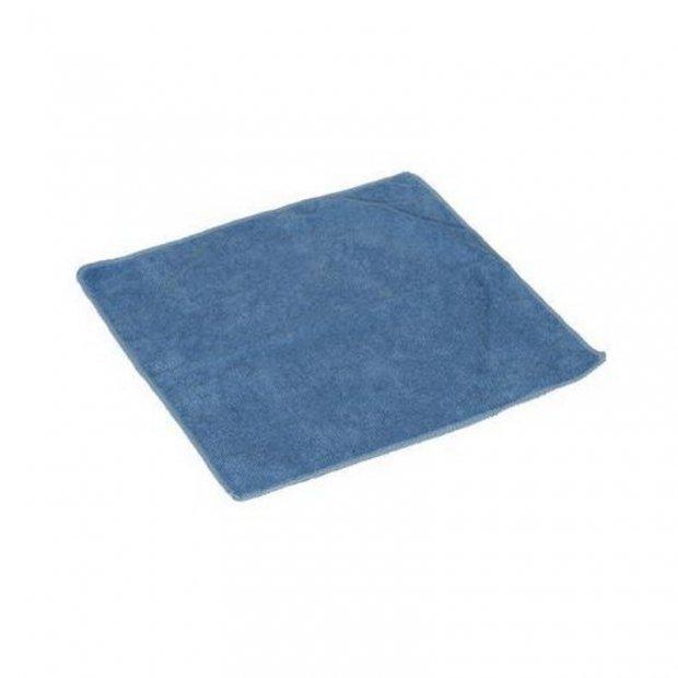 CleanPRO - Ścierka z mikrofibry, 40 x 40 cm - Niebieska