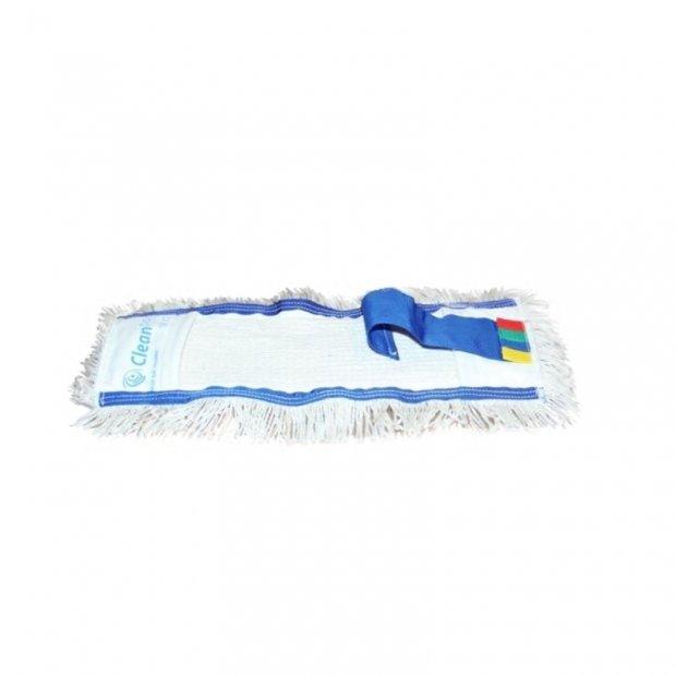 CleanPRO 04 - Mop kieszeniowy z tasiemką, bawełna - 40 cm