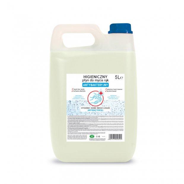 Gold drop – Antybakteryjny płyn do mycia rąk bez użycia wody – 5 l