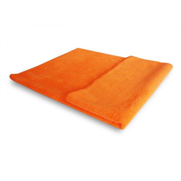 CleanPRO - Ścierka z mikrofibry, pomarańczowa - 50 x 60 cm