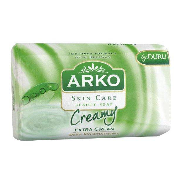 ARKO - mydło w kostce, Extra cream - 90 g