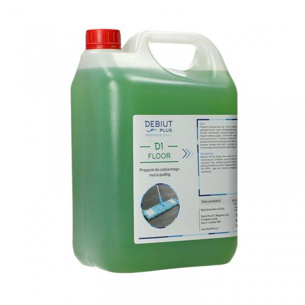 Debiut Plus Professional D1 Floor - Preparat do codziennego mycia podłóg - 5 l