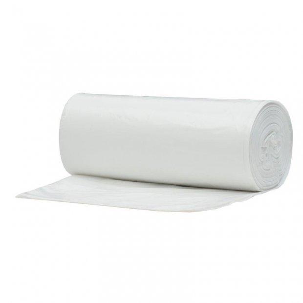 Marcin - Worki na śmieci, białe - 60 l