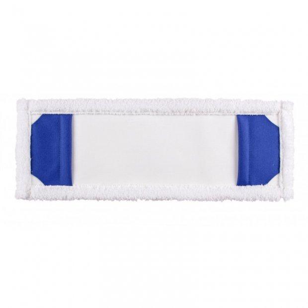 Intermop - Mop kieszeniowy z mikrofazy, biały - 40 cm
