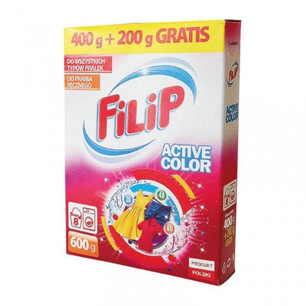 FILIP - Proszek do prania kolorowych tkanin - 600 g