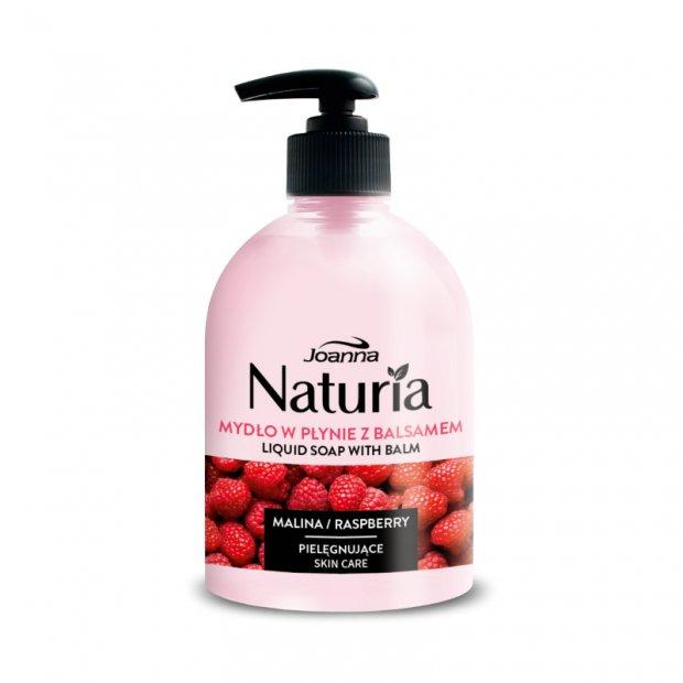 Joanna – Nawilżające mydło w płynie, 500 ml - Malina