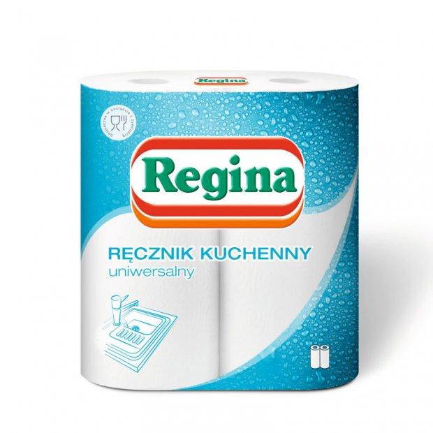 Regina – Ręcznik kuchenny uniwersalny 2-warstwowy – 2 rolki