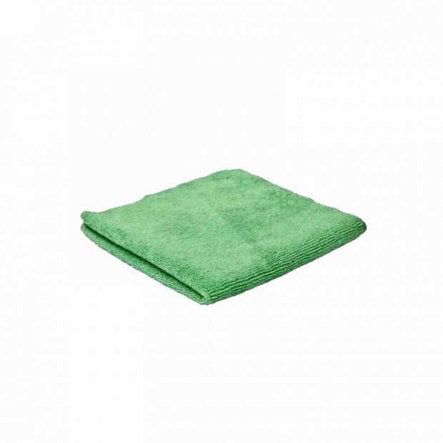 CleanPRO - Ścierka z mikrofibry, 32 x 32 cm - Zielona