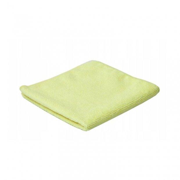 CleanPRO - Ścierka z mikrofibry, 32 x 32 cm - Żółta