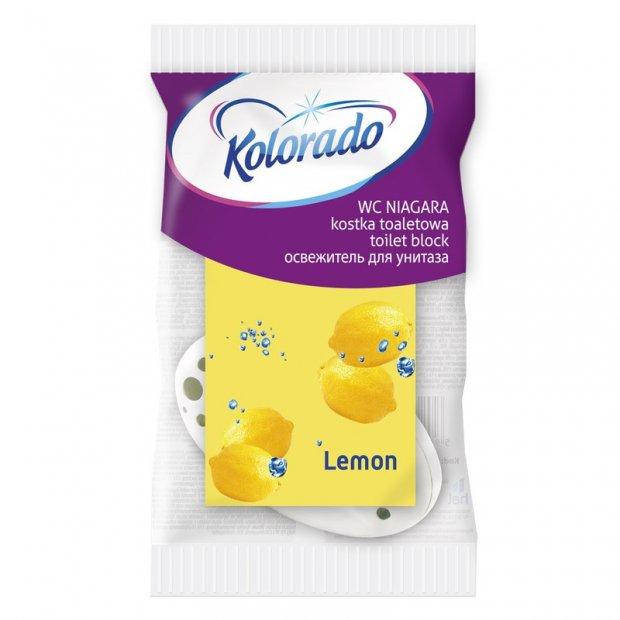 Kolorado Niagara - Kostka do WC z koszyczkiem - Lemon
