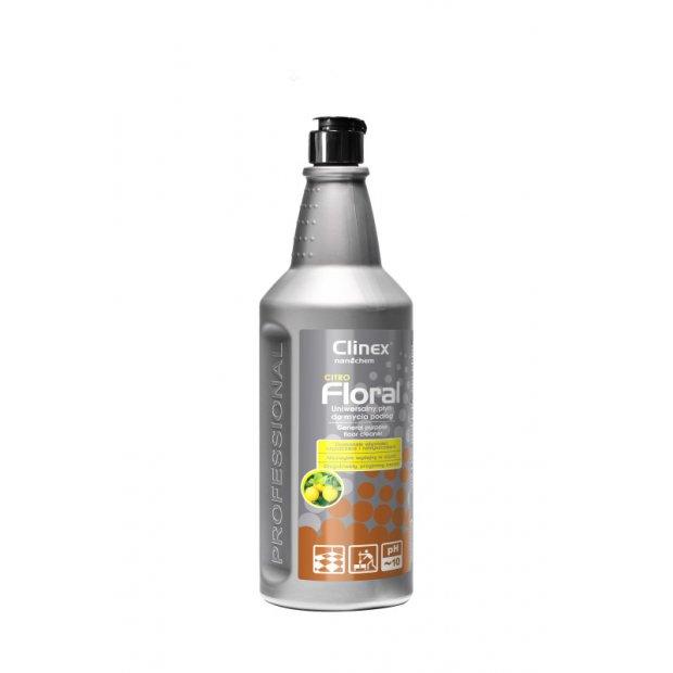 Clinex Floral Citro - Uniwersalny płyn do mycia podłóg - 1 l