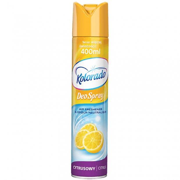 Kolorado Deo Spray - Odświeżacz powietrza w spray'u, 400 ml - Citrus
