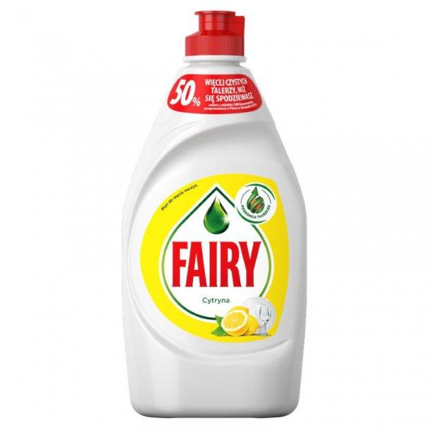 Fairy – Płyn do mycia naczyń, 450 ml – Cytrynowy