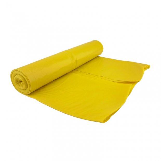 Marcin - Worki na śmieci, żółte, ekstramocne - 60 l